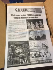 Creekside 2017 newspaper