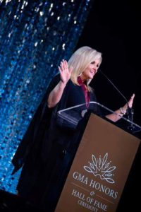 Karen Peck Gooch at the GMA Hall of Fame honors. (Chip Woods Photography)