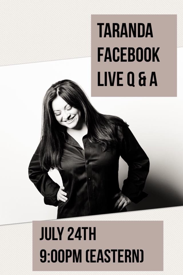 TaRanda Hosts Facebook Live Tonight!