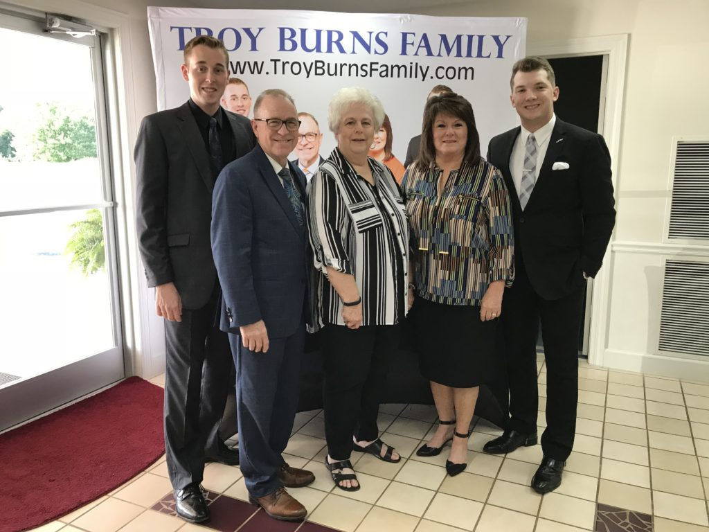 Troy Burns Family Signs Exclusive Agreement With Rivergate Talent Agency