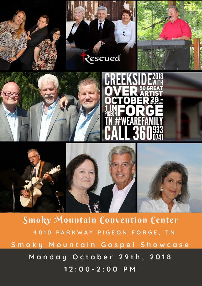 2nd Annual Smoky Mountain Gospel Showcase