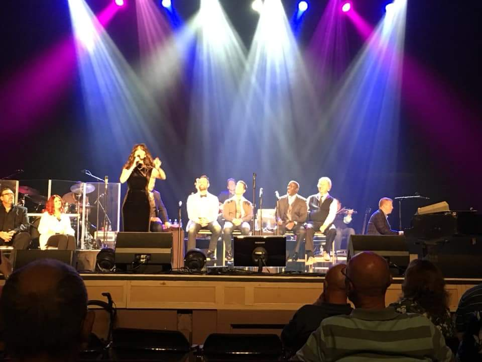 Sherry Anne with the Gaither Vocal Band #deafawarenessmonth