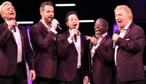 Gaither Vocal Band and Bradley Walker Celebrate 2018 GMA DOVE Award Wins