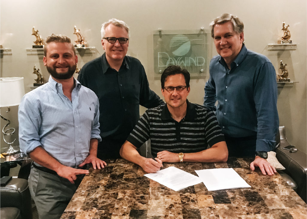 Michael Booth signs with Daywind
