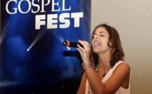 Erica Cookston at Gospel Fest