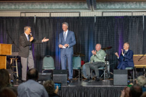 Arthur Rice receives Lifetime Achievement Award at Creekside 2018
