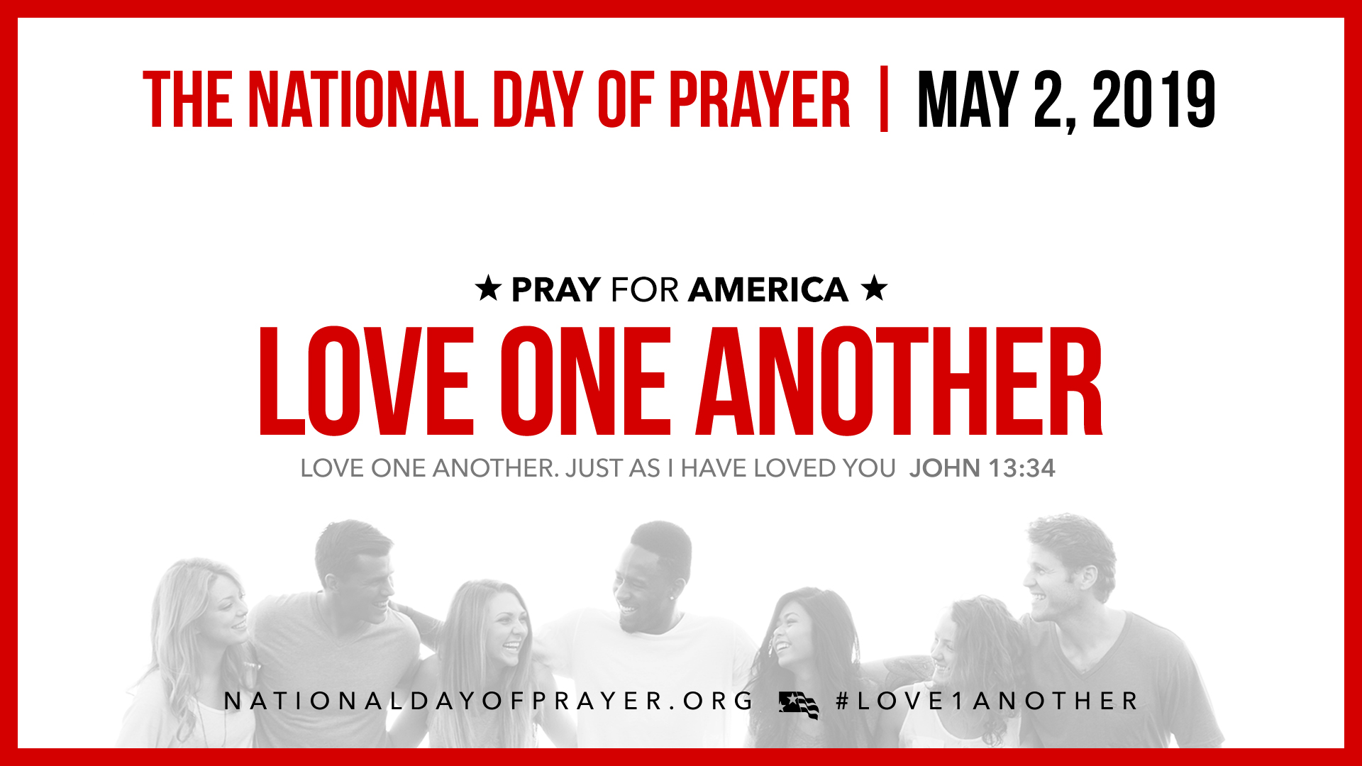 National Day of Prayer to call Americans to 'Love One Another,' Thursday, May 2