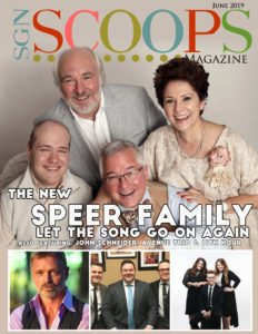 June 2019 SGNScoops Magazine features the New Speer Family