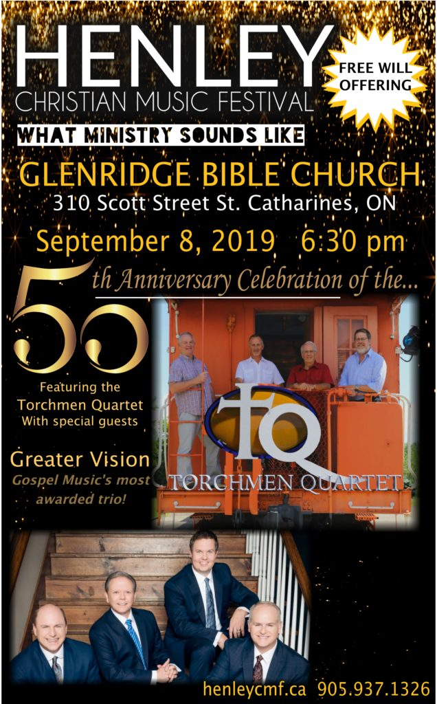 Torchmen 50th Anniversary with Greater Vision