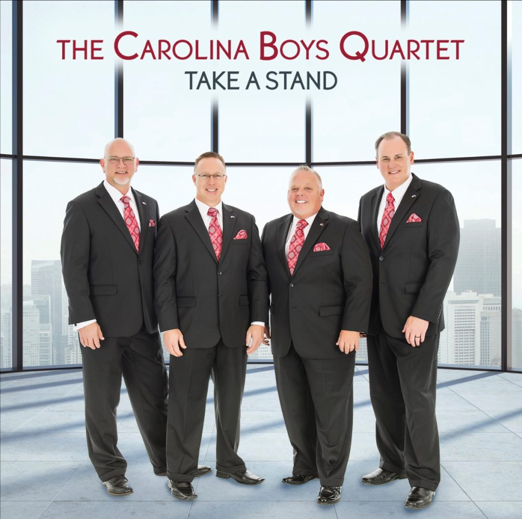 The Carolina Boys Quartet shares unshakable faith on Take A Stand