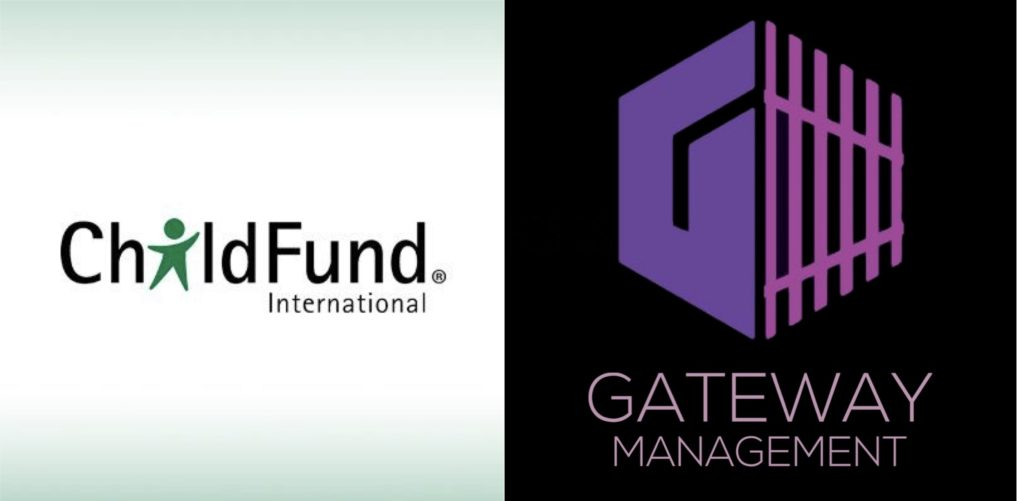 For Immediate Release: Gateway Management Partners With Child Fund International