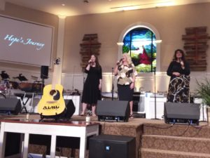 Beyond the Song: Hope's Journey sing We Are Not Ashamed
