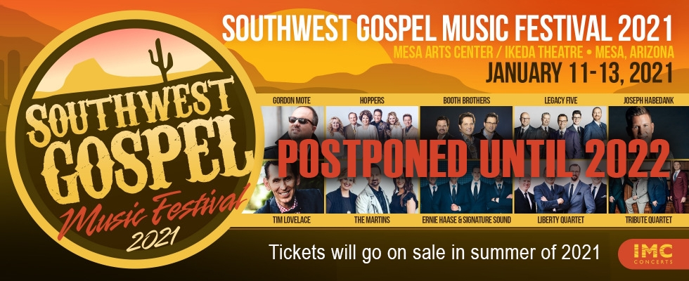NEWS RELEASE: IMC CONCERTS ANNOUNCES POSTPONEMENT OF SWGMF