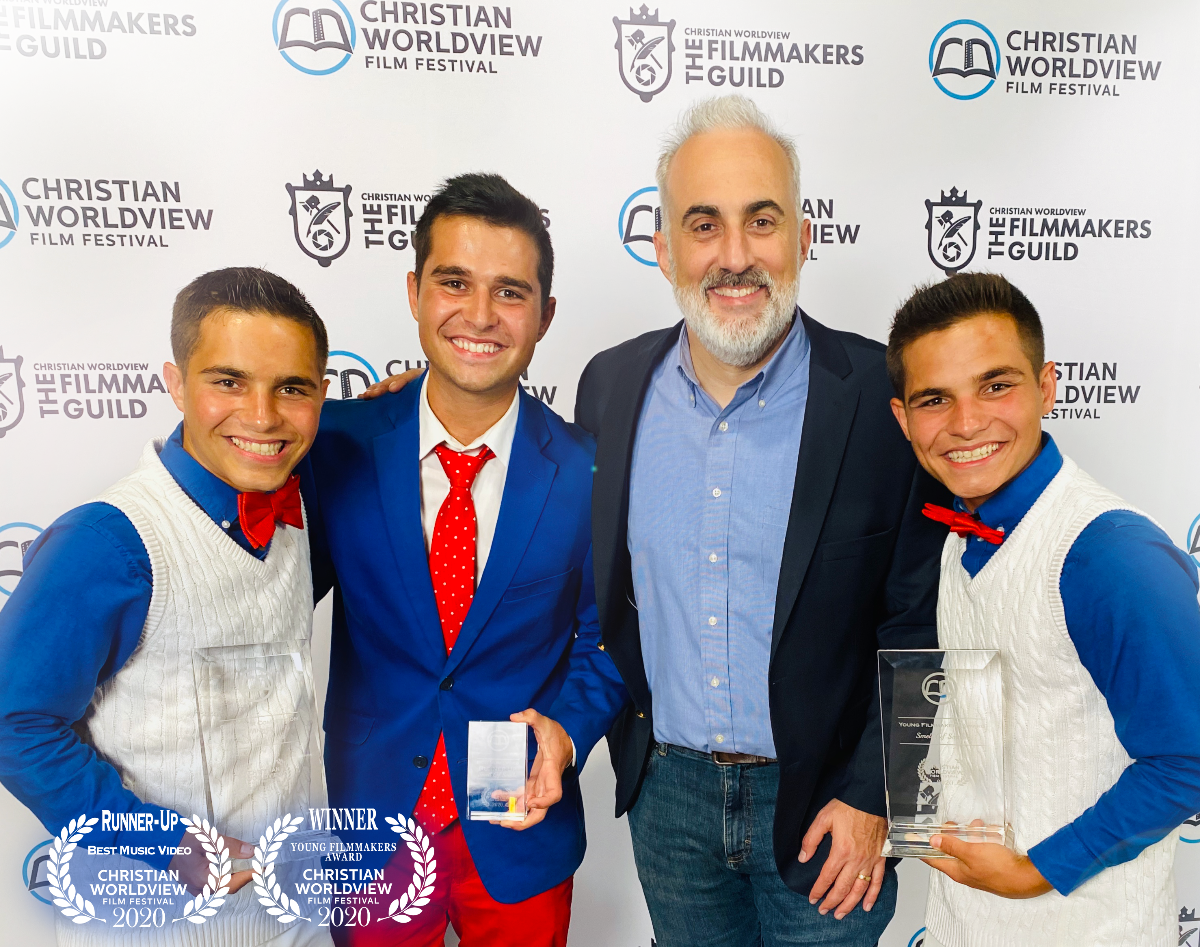 3 Heath Brothers take home honors from the Christian Worldview Film Festival